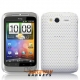 Mesh case cover hoesje voor HTC WildFire S (Wit)