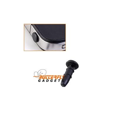 Stofkapje voor alle telefoons met 3.5mm koptelefoon ingang - Zwart