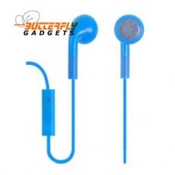 Handsfree headset voor iPhone en iPad met ingebouwde microfoon - Blauw