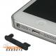 Beschermkapje voor de headset en dockingconnector tegen het stof voor de iPhone 5