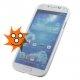 Goed beschermend hoesje van vormvast materiaal voor de Samsung Galaxy S4
