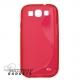 Flexibele TPU hoesje voor de Samsung Galaxy S3 SIII i9300 - rood
