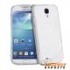 Flexibel hoesje met ribbels voor goede grip voor de Samsung Galaxy S4