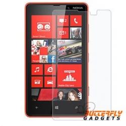Scherm beschermingsfolie voor de Nokia Lumia 820