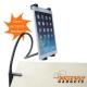 Houder met klemming voor aan het bureau voor de iPad, 2, 3 en 4  - INCL. VERZ. KOSTEN