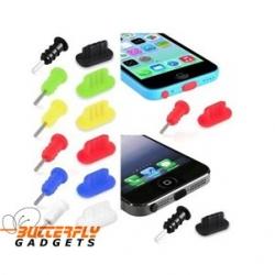 Kleurrijke set stofkapjes voor de iPhone 5, 5s, 5c, iPad 4 en iPad Mini