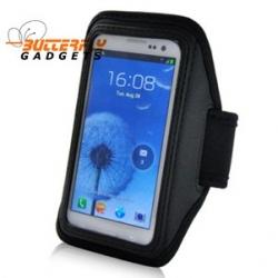 Sportarmband voor hardlopen, fietsen, mountainbiken voor de Samsung Galaxy S4