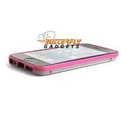 Glow in the Dark bumpercase voor de iPhone 5, iPhone 5s - Paars Roze