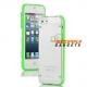 Groen lichtgevend hoesje voor in het donker voor de iPhone 5, iPhone 5s
