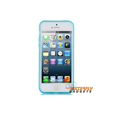 Blauw Glow in the Dark hoesje voor de iPhone 5, iPhone 5s