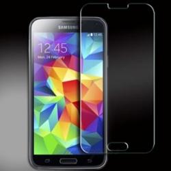 Scherm bescherming van gehard glas voor de Samsung Galaxy S5 tegen krassen