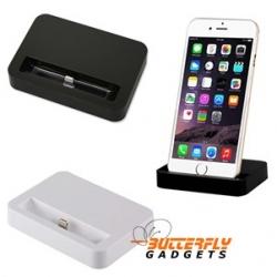 Dockingstation - bureauhouder voor de iPhone 6, zwart en wit