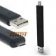 Buigbare kabel met Micro USB aansluiting om handig de telefoon te laden