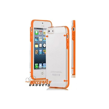 Oranje Glow in the Dark hoesje voor de iPhone 5, iPhone 5s