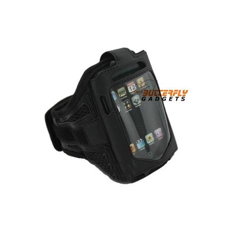 Sport armband voor de iPhone 3, 4, 3G, 3GS, 4S (zwart)