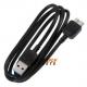 USB 3 kabel voor de Samsung Galaxy S5, Note 3, Note 4 - Zwart, 1 meter