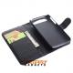 Flipcase hoesje met twee pinpasvakjes voor de BlackBerry Q20