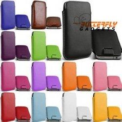 Handig insteekhoesje, in vele kleuren, met strap voor de iPhone 6