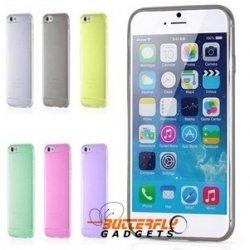 Hoesje met goede grip en van soepel materiaal voor de iPhone 6 PLUS
