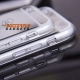 Spiegelend hoesje voor de iPhone 6 - Zilverkleurig - Goudkleurig
