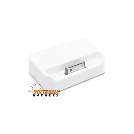 Dockingstation voor de iPhone 4 en iPhone 4s (wit)