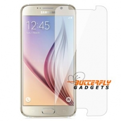 Screenprotector folie om het scherm van de Samsung Galaxy S6 te beschermen