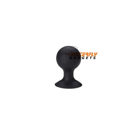 Rubberen standaard voor o.a. de iPhone (iStand) (zwart)