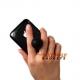 Rubberen houder voor de iPhone (iStand) (zwart)