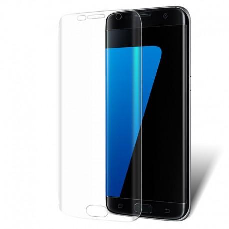 Screenprotector voor de Samsung Galaxy S7 Edge met ronde zijkanten