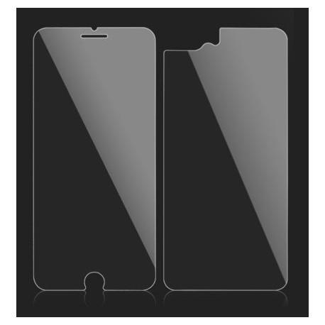 Scherm en achterkant bescherming van glas voor de iPhone 8