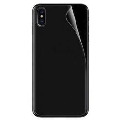 Bescherm folie tegen krassen op de achterkant van de iPhone X