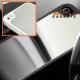 Stevige spiegelende (mirror) harde case voor de iPhone 4, 4s - Zwart - Wit