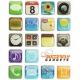 iPhone App koelkast magneten (18 stuks)