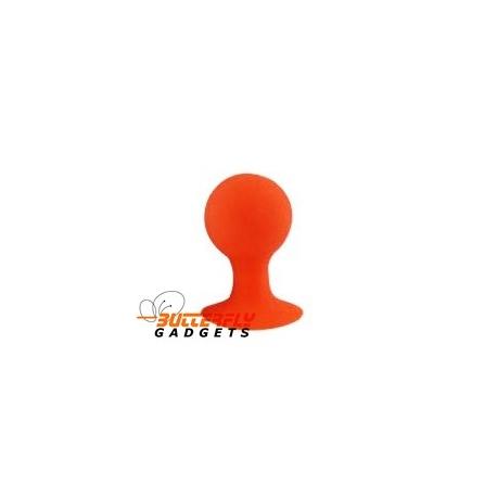 Rubberen standaard voor o.a. de iPhone (iStand) (oranje)