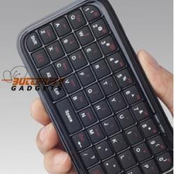 Bluetooth (draadloos) qwerty toetsenbord voor o.a. de iPhone 3 en 4
