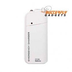 Noodlader (USB) voor de iPhone 4, 4G, 4S (wit)