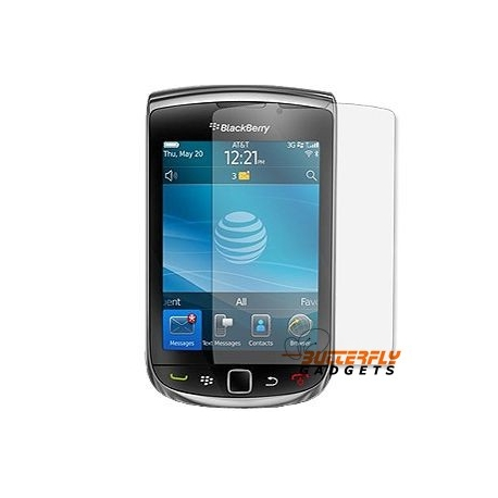 Screen protector voor de Blackberry Torch 9800