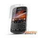 Screen protector voor de Blackberry Bold 9900 inclusief schoonmaakdoekje