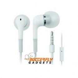 Stereo in-ear headset voor de iPhone en iPad met ingebouwde microfoon - Wit