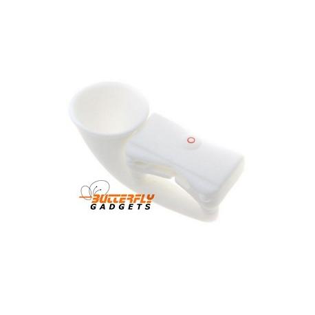 Hoorn speaker versterker - standaard voor de iPhone 3 en iPhone 4 - Wit