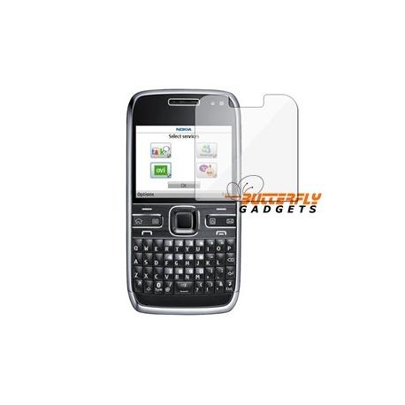 Screenprotector voor de Nokia E72 inclusief schoonmaakdoekje