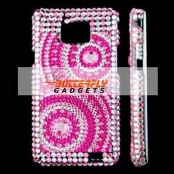 Bling Bling cover voor de Samsung Galaxy S2 i9100 Roze - V