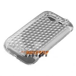 Zachte gel (TPU) case voor de achterkant van de HTC Wildfire S