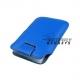 Case (pouch holster) met strap voor de iPhone 3, 3G, 3GS, 4, 4S - Blauw