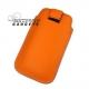 Case (pouch holster) met strap voor de iPhone 3, 3G, 3GS, 4, 4S - Oranje