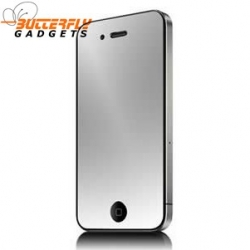 Spiegelende screen protector voor de iPhone 4, 4s