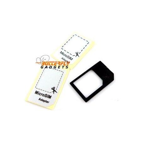MicroSIM adapter - Maakt van de kleine SIM weer een normale SIM