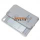 Uitschuifbaar bluetooth toetsenbord - case voor de iPhone 4, 4G, 4S - Wit