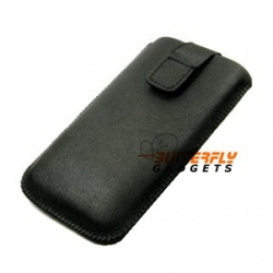 Pull-up case met klitteband sluiting voor de Samsung Galaxy Sii i9100