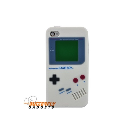 Nintendo GameBoy look cover voor de iPhone 4 en iPhone 4s